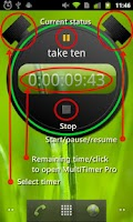 Screenshot of Multitimer Round Widget