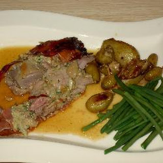 Stuffed Roast Lamb