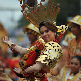 Sinulog Festival Queen 2014 by Ferdinand Ludo - News & Events World Events ( cebu city, sinulog queen, philippines,  )