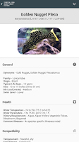 Screenshot of Tropical Fish Guide Pocket Ed.