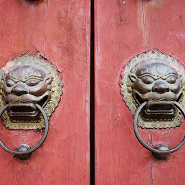 door hander by Woo Yuen Foo - Artistic Objects Antiques