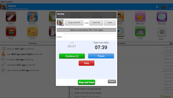 Screenshot of Daily Connect (Child Care)