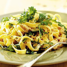 Tagliatelle With Tuna, Lemon & Rocket