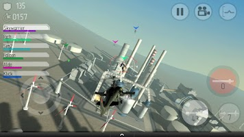 Screenshot of C.H.A.O.S Multiplayer Air War