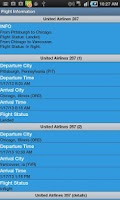 Screenshot of Flight Info Free