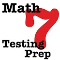 7th Grade Math Testing Prep icon