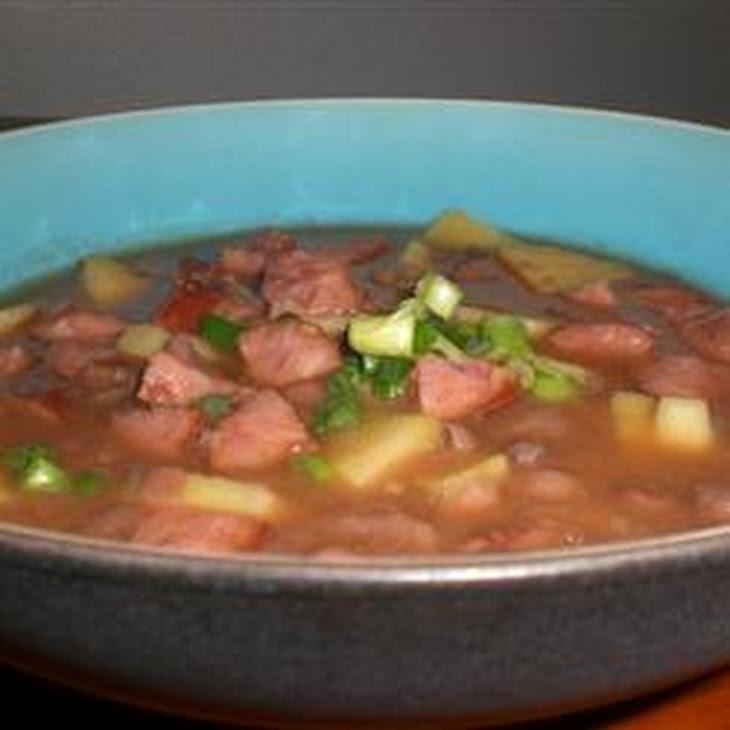 Black Bean, Sausage, and Sweet Potato Soup Recipe | Yummly
