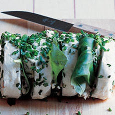 Sainte-Maure, Basil and Fresh Herb Terrine Recipe