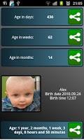 Screenshot of BabyWeeks