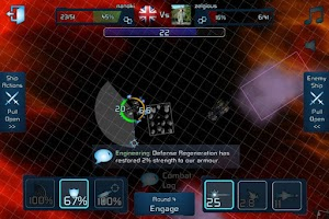 Screenshot of War Space: Free Strategy Game