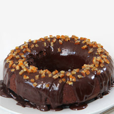 Chocolate Orange Crown Cake