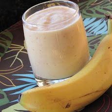Banana Peach Buttermilk Smoothie