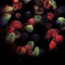 by Ruben  Paul - Abstract Fire & Fireworks ( brave, malta, gudja, fireworks, people )