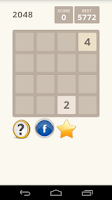 Screenshot of 2048 the game