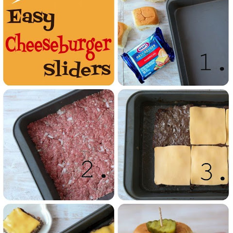 Easy Oven-Baked Cheeseburger Sliders