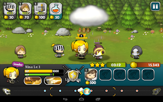 Screenshot of Brave Heroes