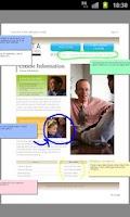 Screenshot of DocuWorks Viewer Light