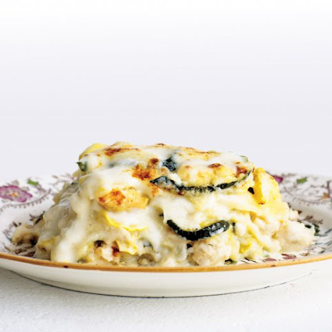 Rich Chicken and Squash Lasagna