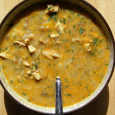 Mulligatawny Soup with Lentils