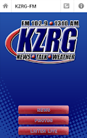 Screenshot of KZRG
