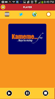 Screenshot of Kameme fm