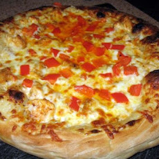 Great Buffalo Chicken Pizza