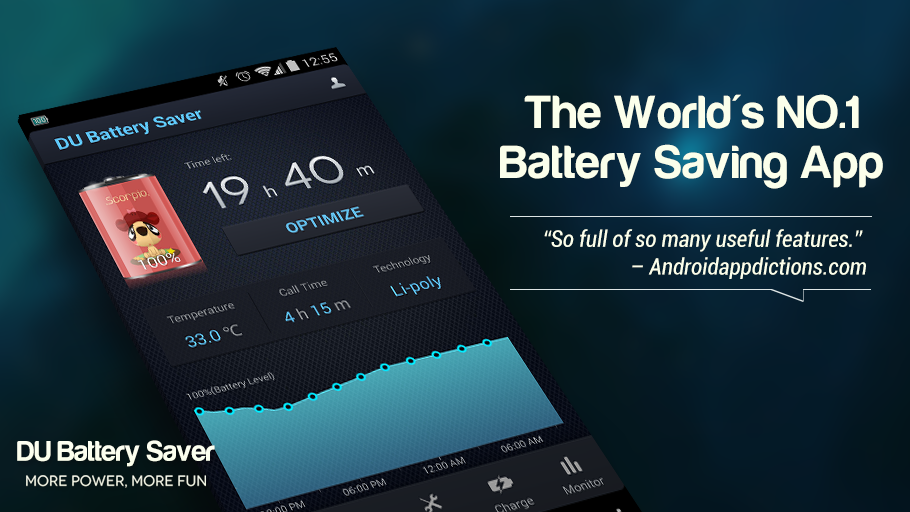 DU Battery Saver PRO & Widgets Screenshot 0