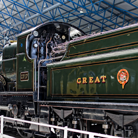 King Gorge V by Wojciech Cieslak - Transportation Trains ( muzeum, kolejnictwa, old, technic, pulmans, transportation, museum, heritage, city, railway, yorkshire, york, town, historical, steam, parowozy )