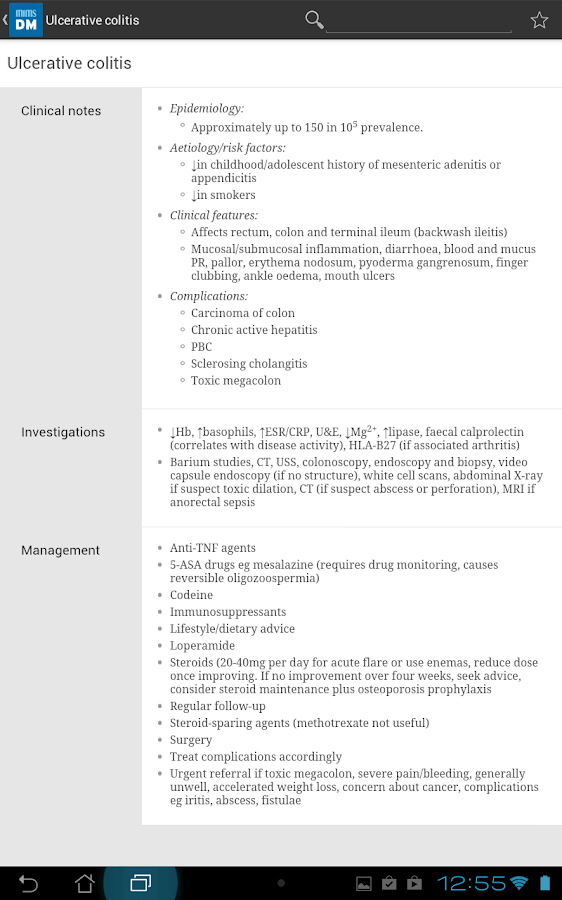 MIMS Diagnosis & Management Screenshot 5