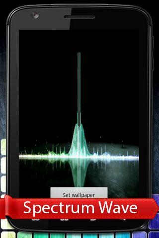 Spectrum Wave Live Wallpaper