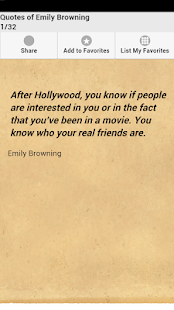 Quotes of Emily Browning - screenshot