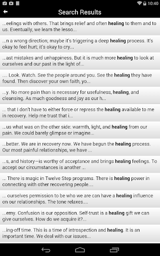 The Language of Letting Go - screenshot