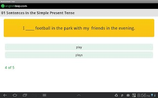 Screenshot of Improve English Grammar