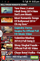 Screenshot of HINDI SONGS HD
