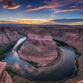 Horseshoe Bend, Page AZ by Ferruccio Galbiati - Landscapes Sunsets & Sunrises (  )