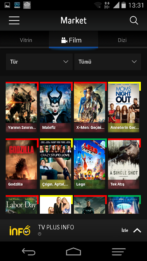 Turkcell TV+ Screenshot 1