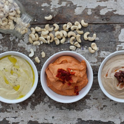 Classic Cashew Cheese, 3 ways