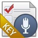 VoiceShoppingListKey icon