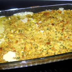 Aunt Jewel's Chicken Dressing Casserole