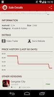 Screenshot of AppSales. Best Apps on Sale