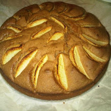 My Autumn Apple Sponge Cake