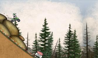 Screenshot of Stickman Downhill Motocross