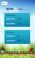 Screenshot of Bubble PongPong the same color