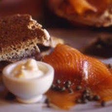 Brown Bread with Smoked Salmon