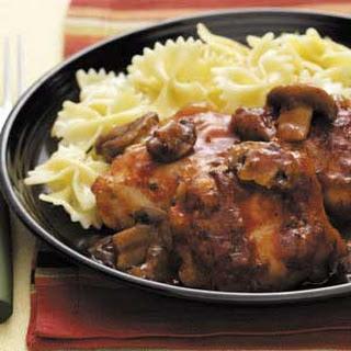 Chicken Merlot With Mushrooms Recipes