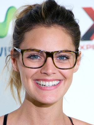Amaia Salamanca wearing eyeglasses