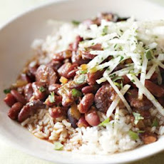 Spicy Red Bean & Chorizo Stew