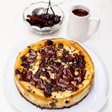 The Best Cherry & Chocolate Cheesecake