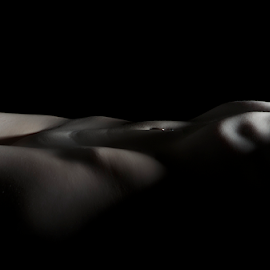 Althea by Steve Smith - Nudes & Boudoir Artistic Nude ( nude, ripples, bodyscape, shadows, skin )