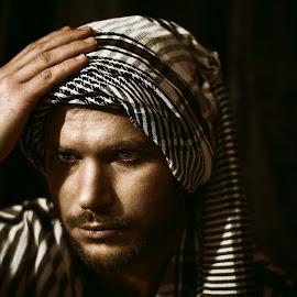 by Kine Akasi - People Portraits of Men